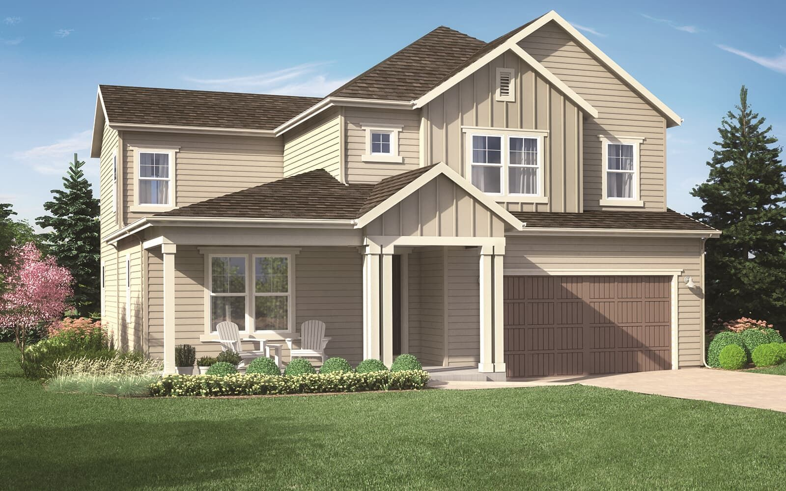Exterior featured in the Ovation 4 By Brookfield Residential  in Boulder-Longmont, CO