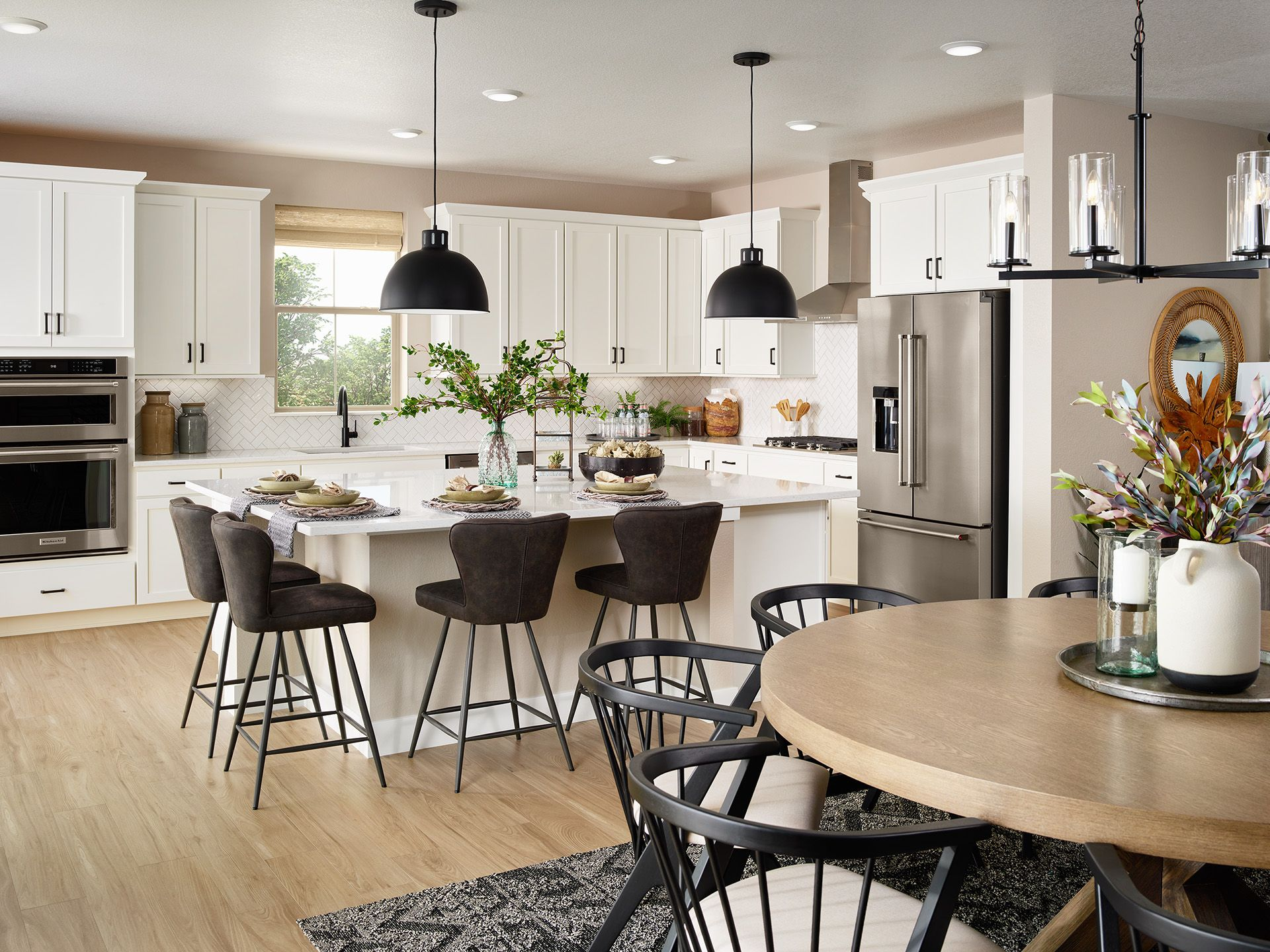 Kitchen featured in the Harvest 8 By Brookfield Residential  in Boulder-Longmont, CO