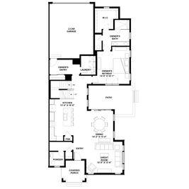 Villa 5 - Villa Portfolio at Central Park: Denver, Colorado - Brookfield Residential