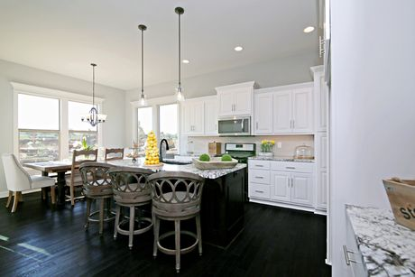 Kitchen In Harmony 1 At Shoal Creek Valley The Enclave