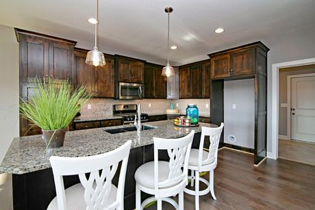 Kitchen-in-Harmony 4-at-Shoal Creek Valley- The Enclave-in-Kansas City
