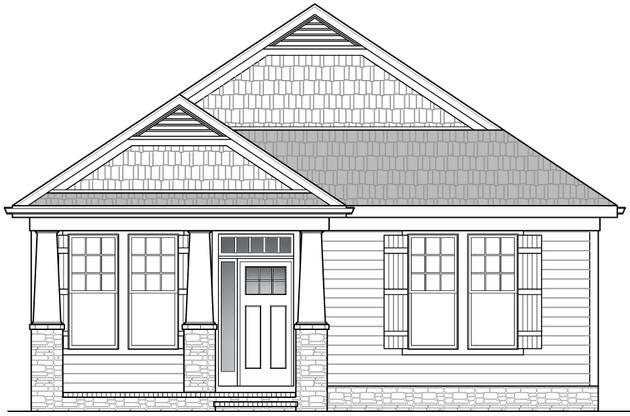 Burlington Elevation 1