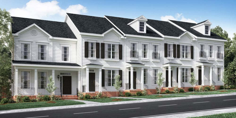 Town Homes by Brookline Homes