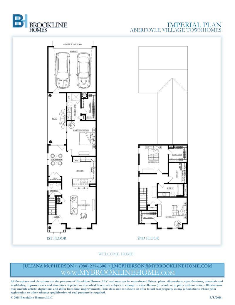 Imperial Floor Plans