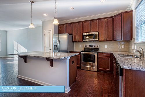 Kitchen-in-The Gaston-at-Water's Edge-in-Belmont