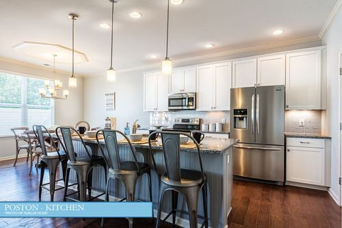 Kitchen-in-The Poston-at-Water's Edge-in-Belmont