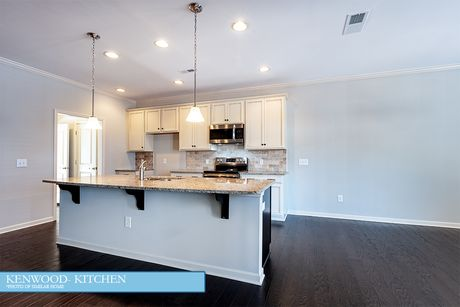 Kitchen-in-The Kenwood-at-Water's Edge-in-Belmont