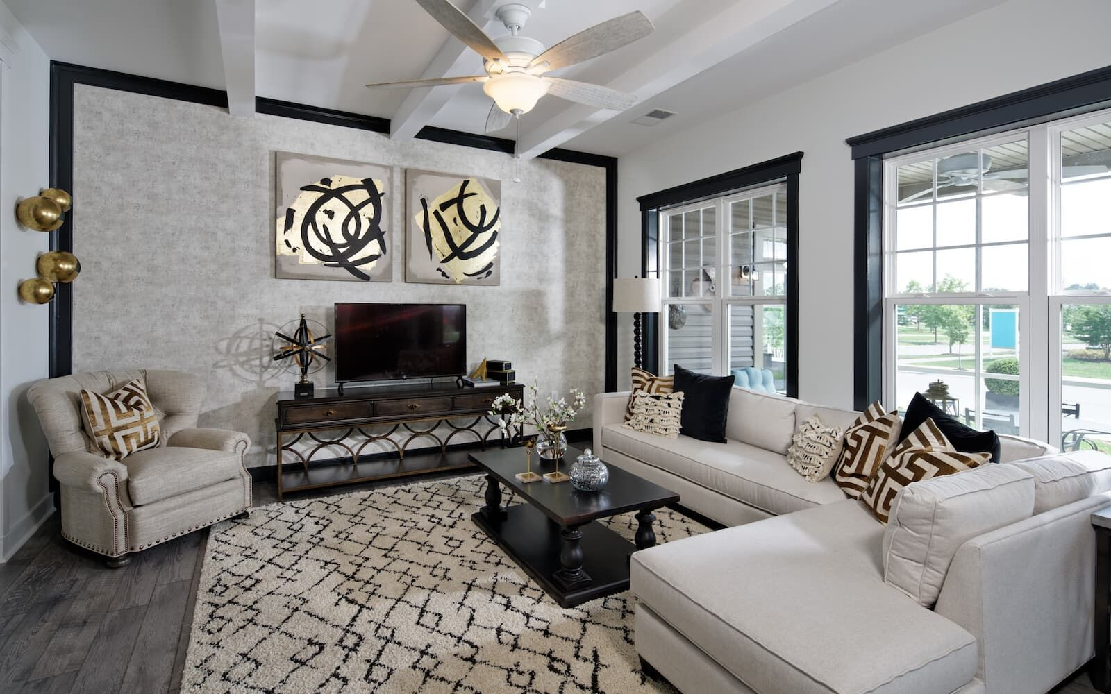 Living Area featured in the Savoy II By Brookfield Residential in Sussex, DE