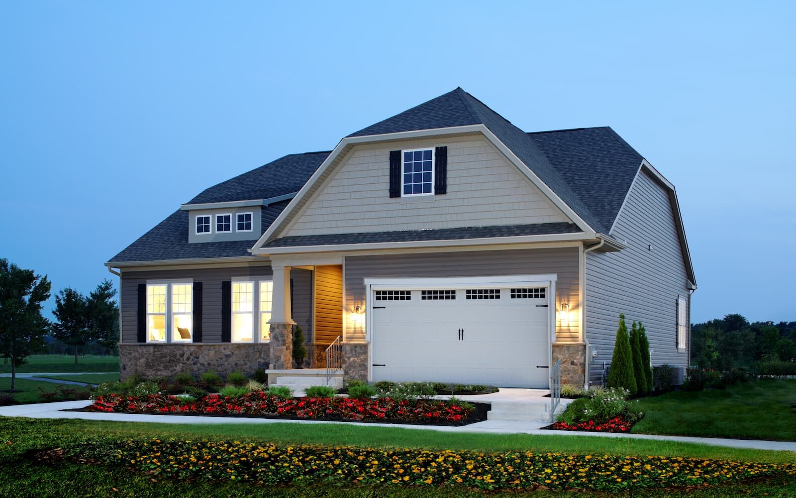 Exterior featured in the Savoy II By Brookfield Residential in Sussex, DE