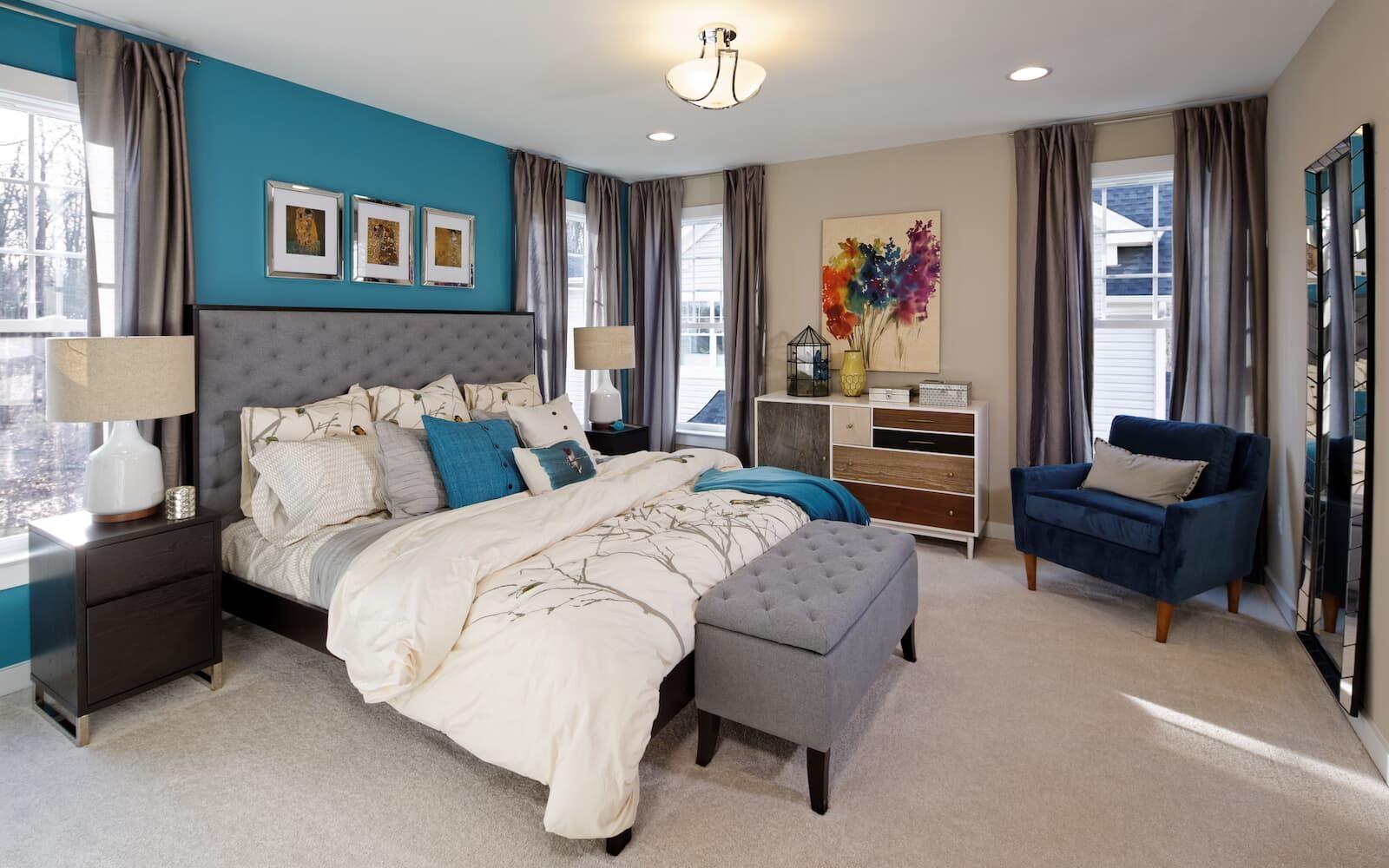 Bedroom featured in the Van Gogh By Brookfield Residential in Sussex, DE