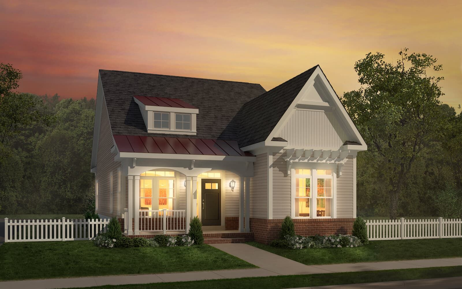Exterior featured in the Abbott II By Brookfield Residential in Eastern Shore, MD