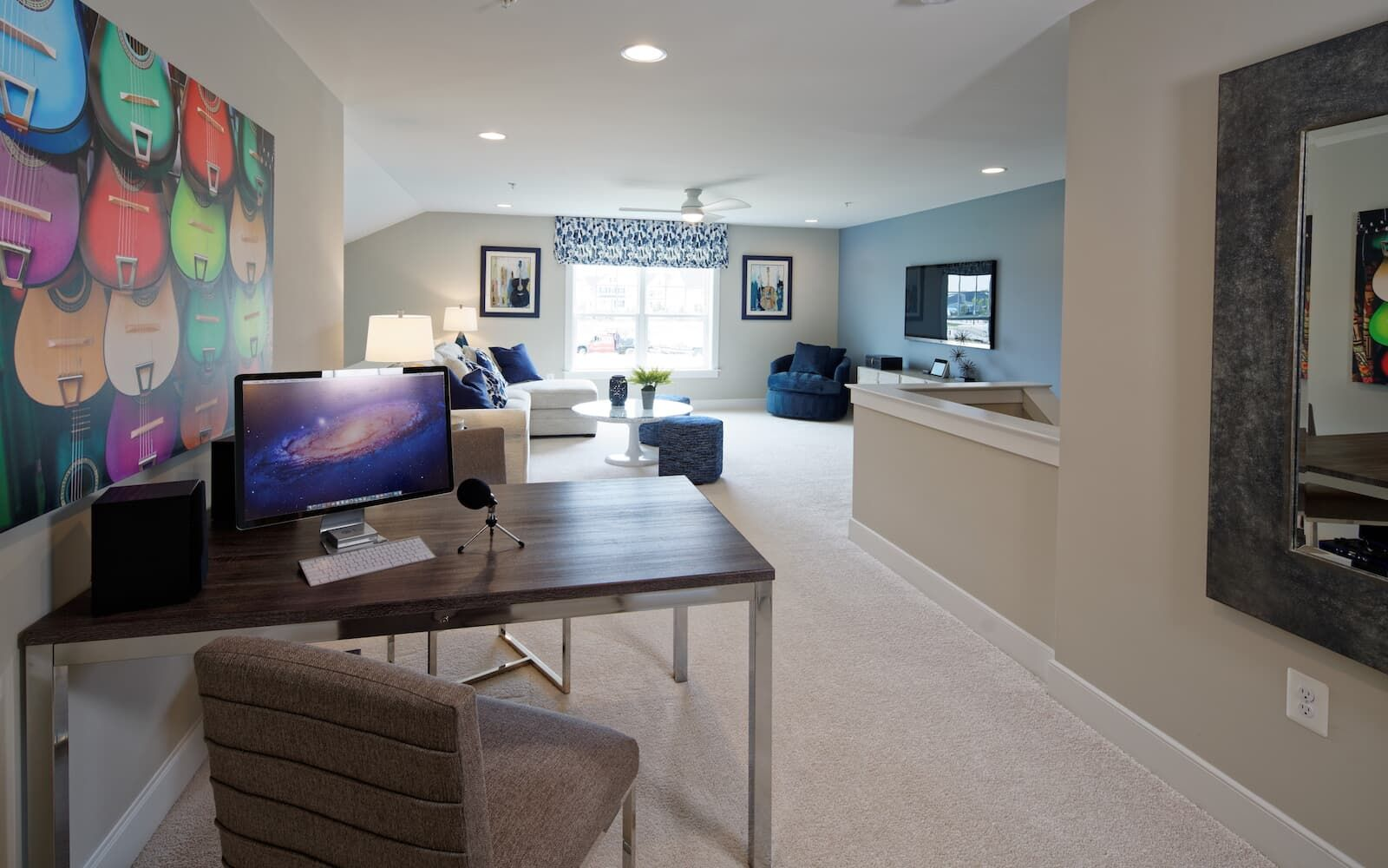 Living Area featured in the Picasso II By Brookfield Residential in Baltimore, MD