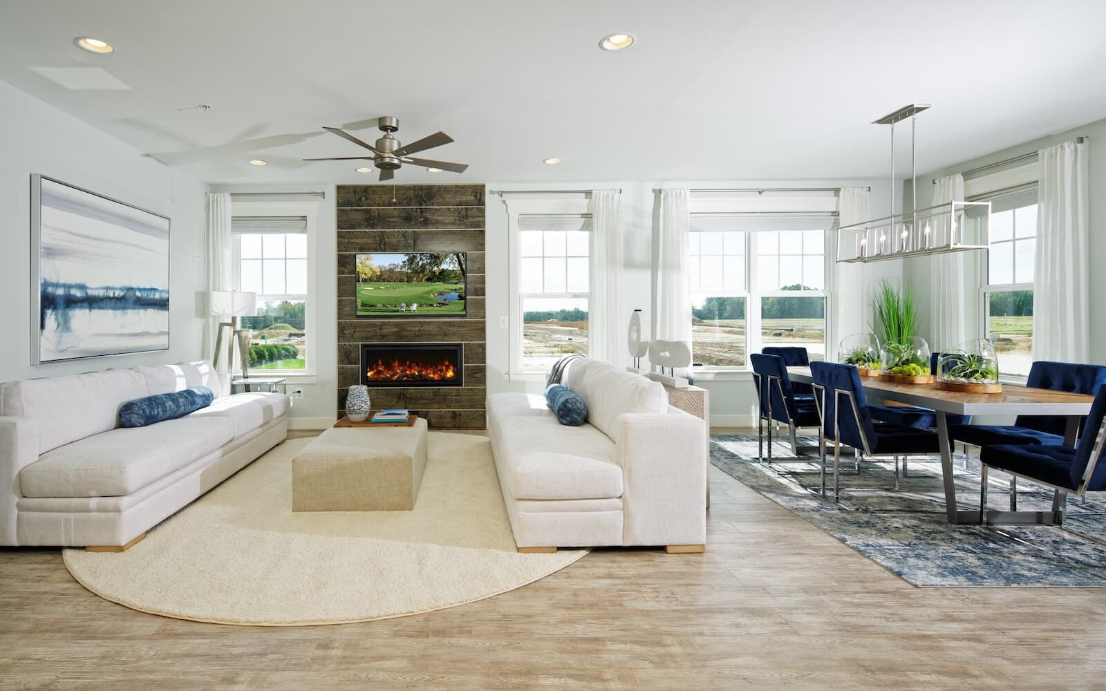 Living Area featured in the Beckner By Brookfield Residential in Baltimore, MD