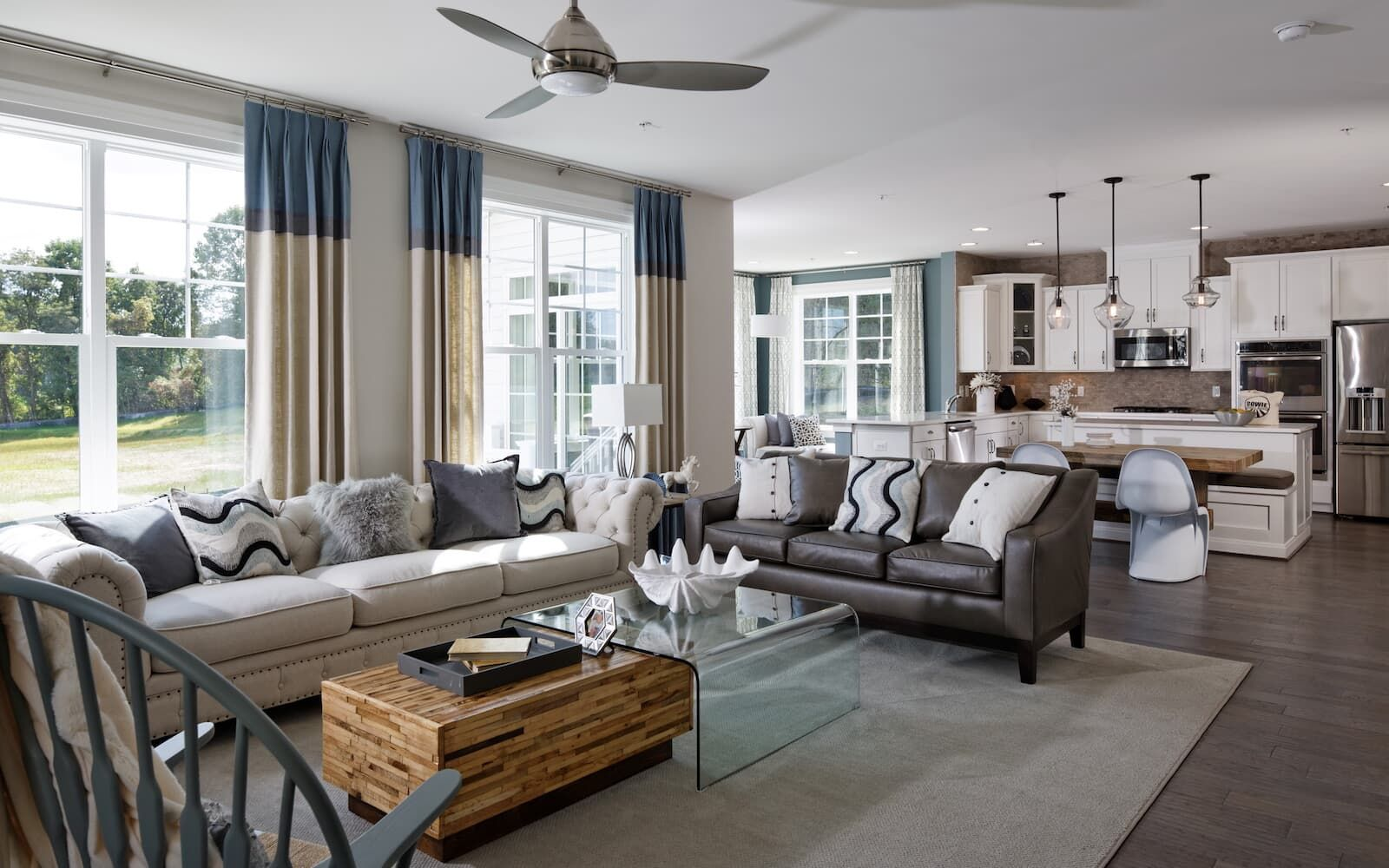Living Area featured in the Sumner By Brookfield Residential in Baltimore, MD