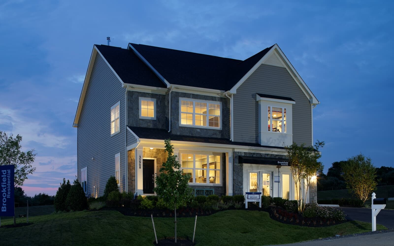 Exterior featured in the Beckner By Brookfield Residential  in Washington, VA