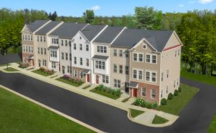 Townhome at Dowden's Station by Brookfield Residential in Washington Maryland