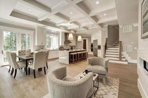 Greatroom-and-Dining-in-The Ashebrooke-at-Brookeville Estates-in-Great Falls