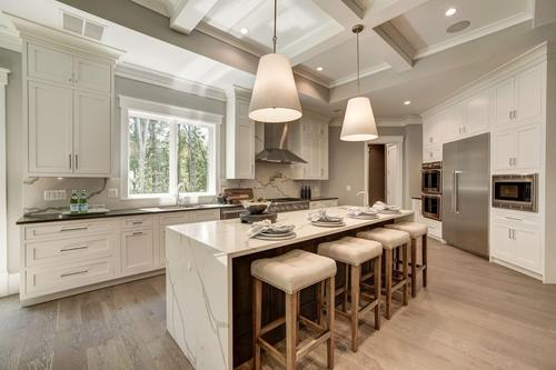 Kitchen-in-The Ashebrooke-at-Brookeville Estates-in-Great Falls