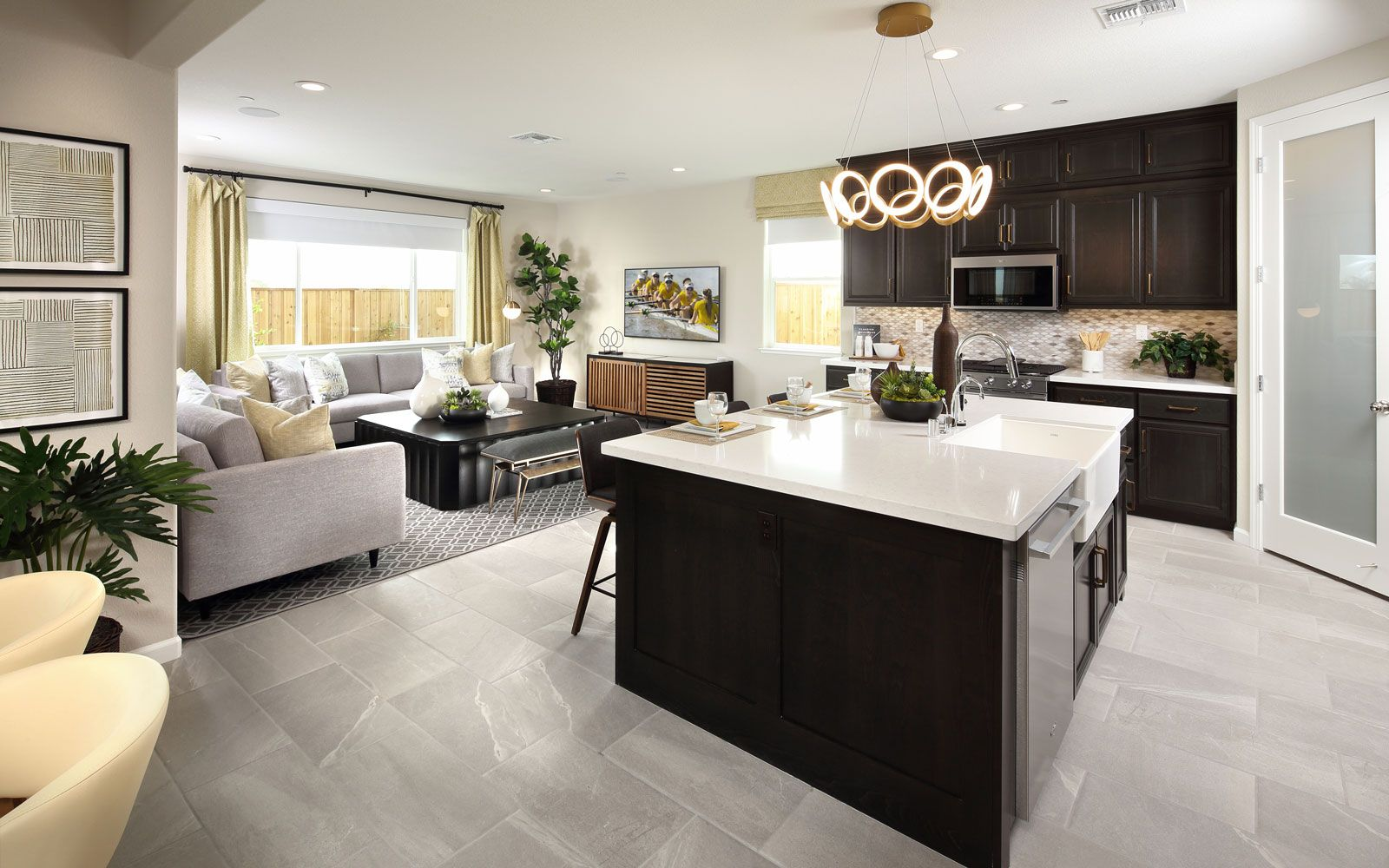 Living Area featured in the Residence 3 By Brookfield Residential  in Oakland-Alameda, CA