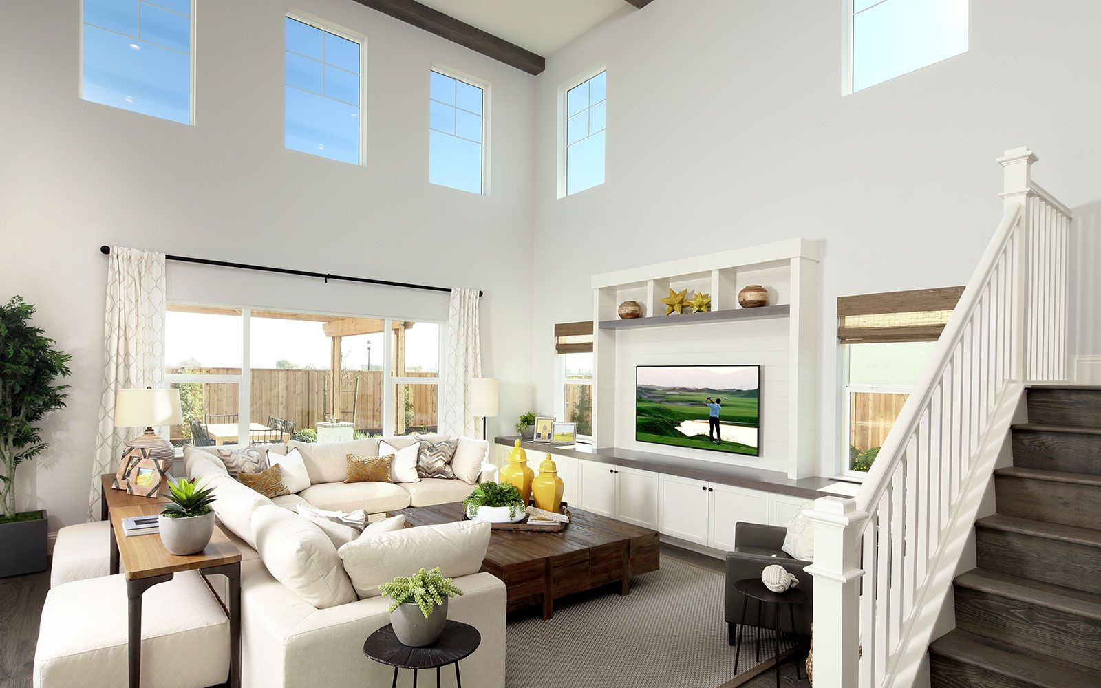 Living Area featured in the Residence 4 By Brookfield Residential  in Oakland-Alameda, CA