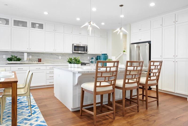 Kitchen featured in the Residence 1 By Brookfield Residential  in Oakland-Alameda, CA