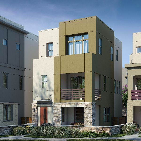 Exterior featured in the Residence 3 By Brookfield Residential  in Oakland-Alameda, CA