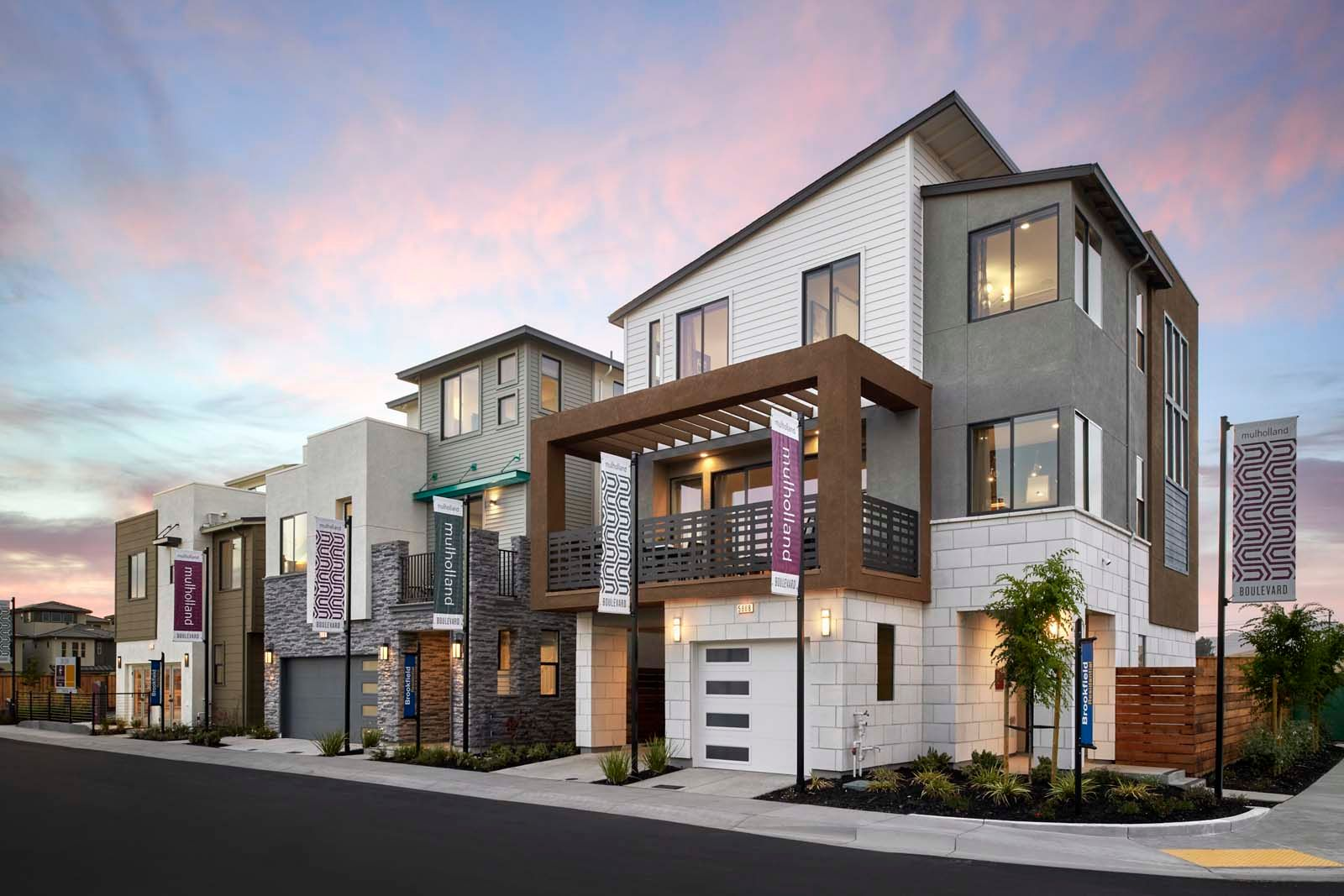 'Mulholland at Boulevard' by Brookfield Residential-East Bay in Oakland-Alameda