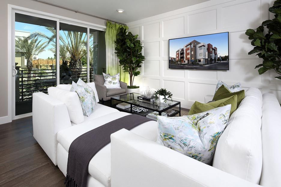 Living Area featured in the Residence 2A By Brookfield Residential  in Oakland-Alameda, CA
