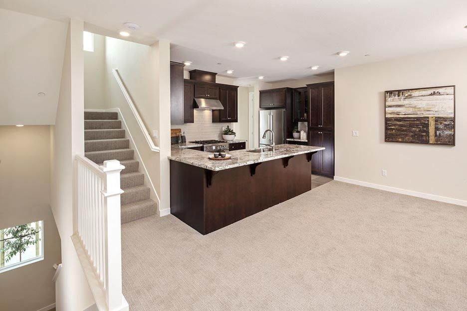 Kitchen featured in the Residence 3 By Brookfield Residential  in Oakland-Alameda, CA