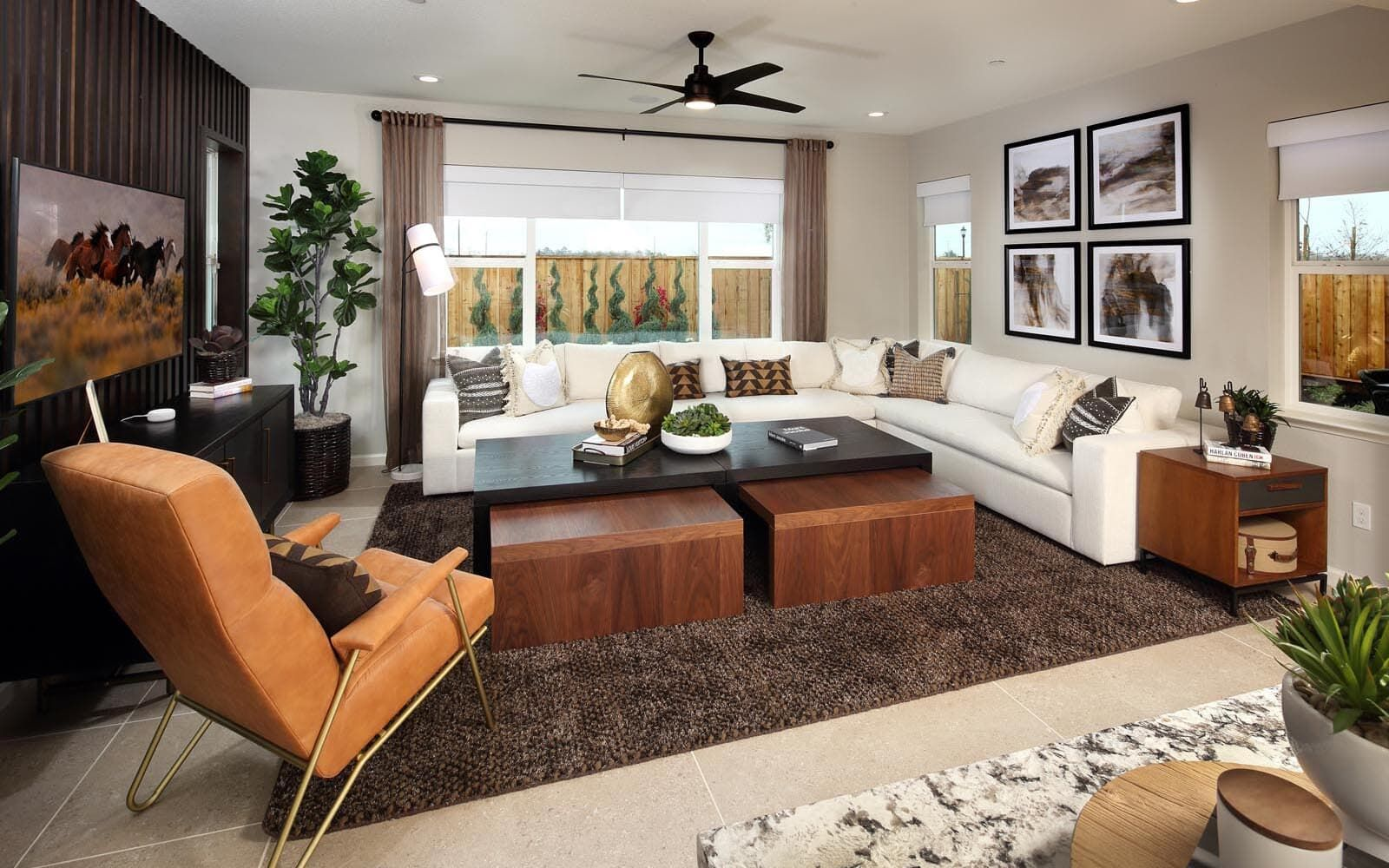 Living Area featured in the Residence 5 By Brookfield Residential  in Oakland-Alameda, CA