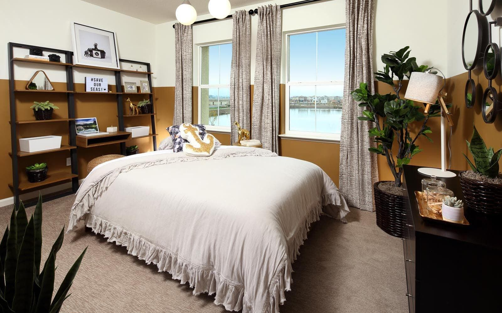 Bedroom featured in the Residence 5 By Brookfield Residential  in Oakland-Alameda, CA
