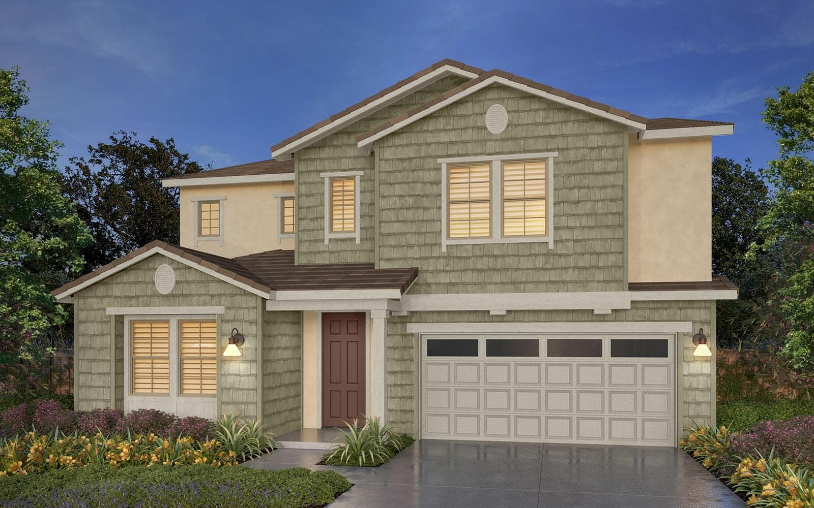 Exterior featured in the Residence 5 By Brookfield Residential  in Oakland-Alameda, CA