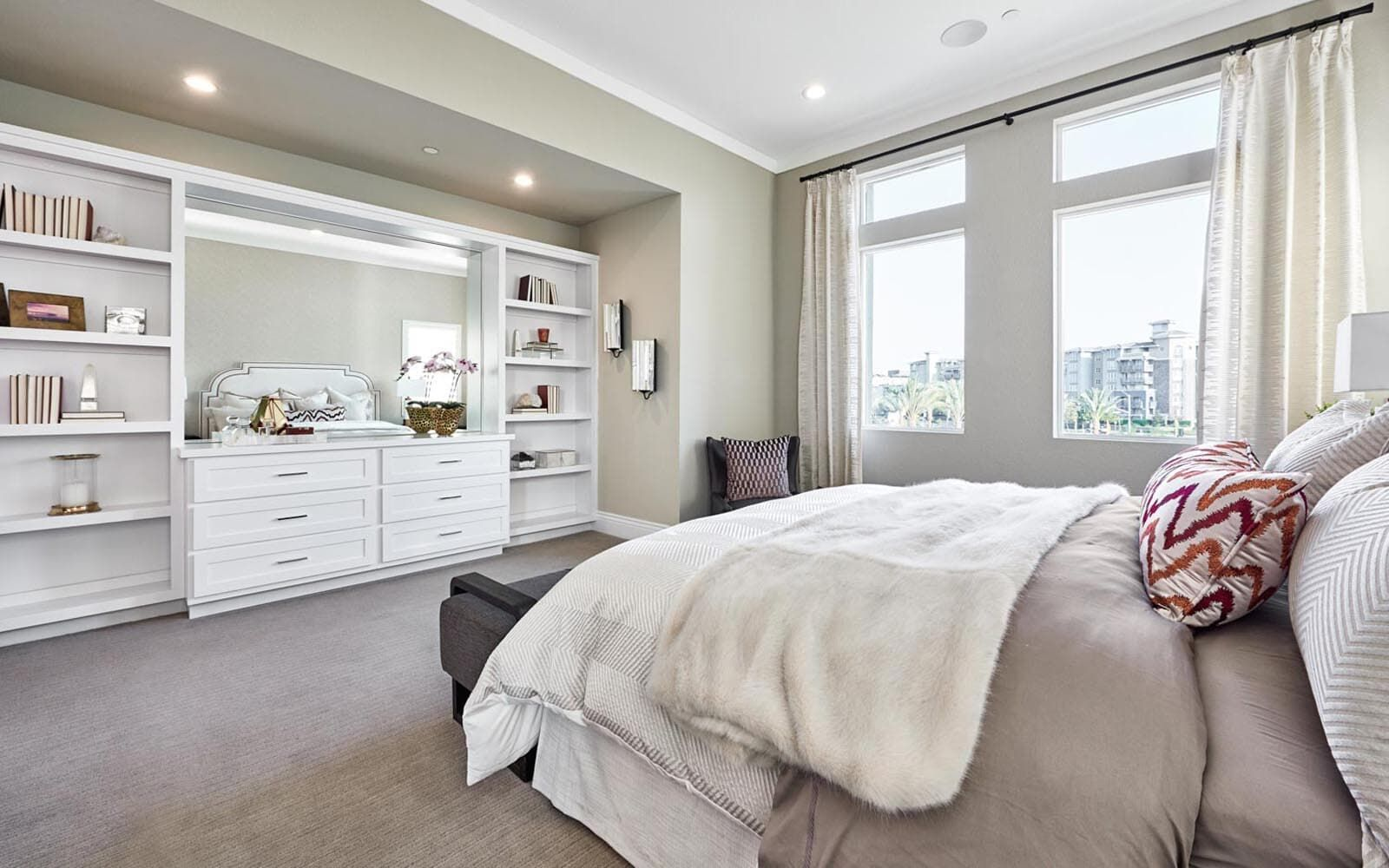 Bedroom featured in the Residence 3 By Brookfield Residential  in Oakland-Alameda, CA