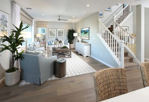 Greatroom-and-Dining-in-Residence 2-at-Laurel-in-Oakley