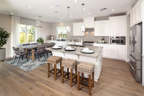 Kitchen-in-Residence 1-at-Citrus at Emerson Ranch-in-Oakley