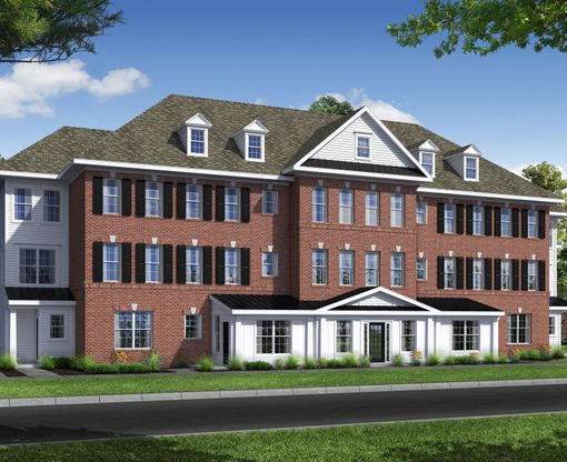Manor Townhomes:Manor Townhome Elevation