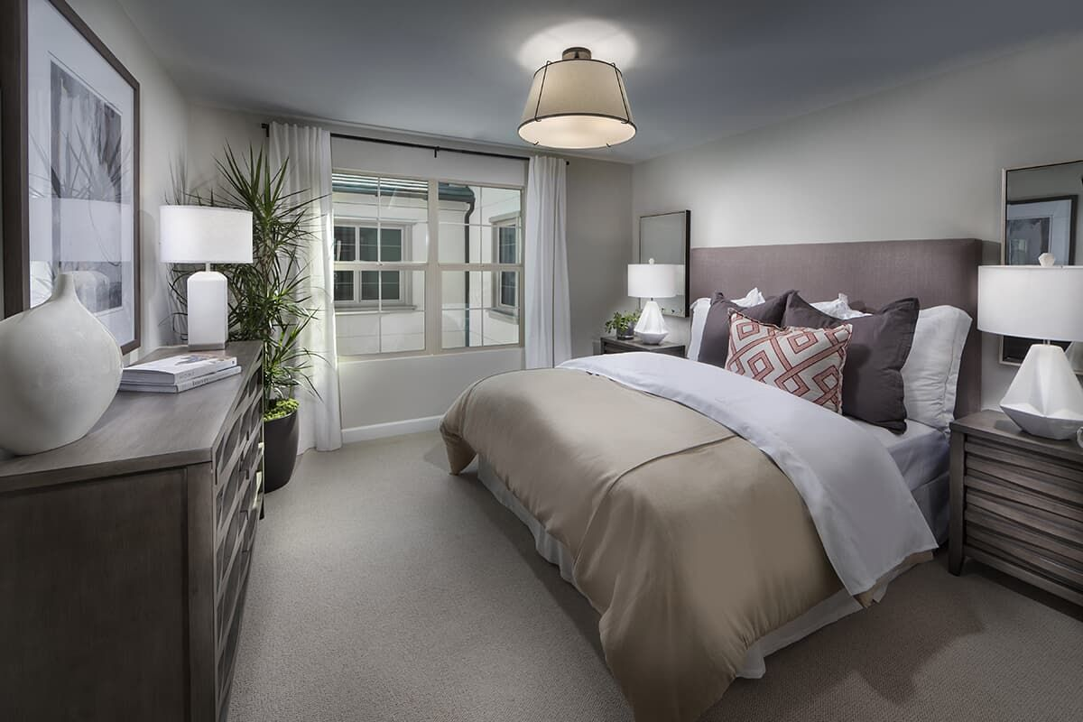 Bedroom featured in the Residence 2 By Brookfield Residential in San Diego, CA