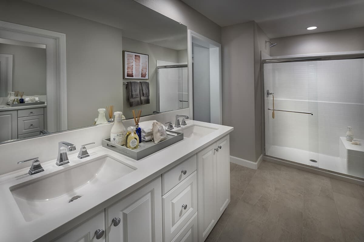 Bathroom featured in the Residence 2 By Brookfield Residential in San Diego, CA
