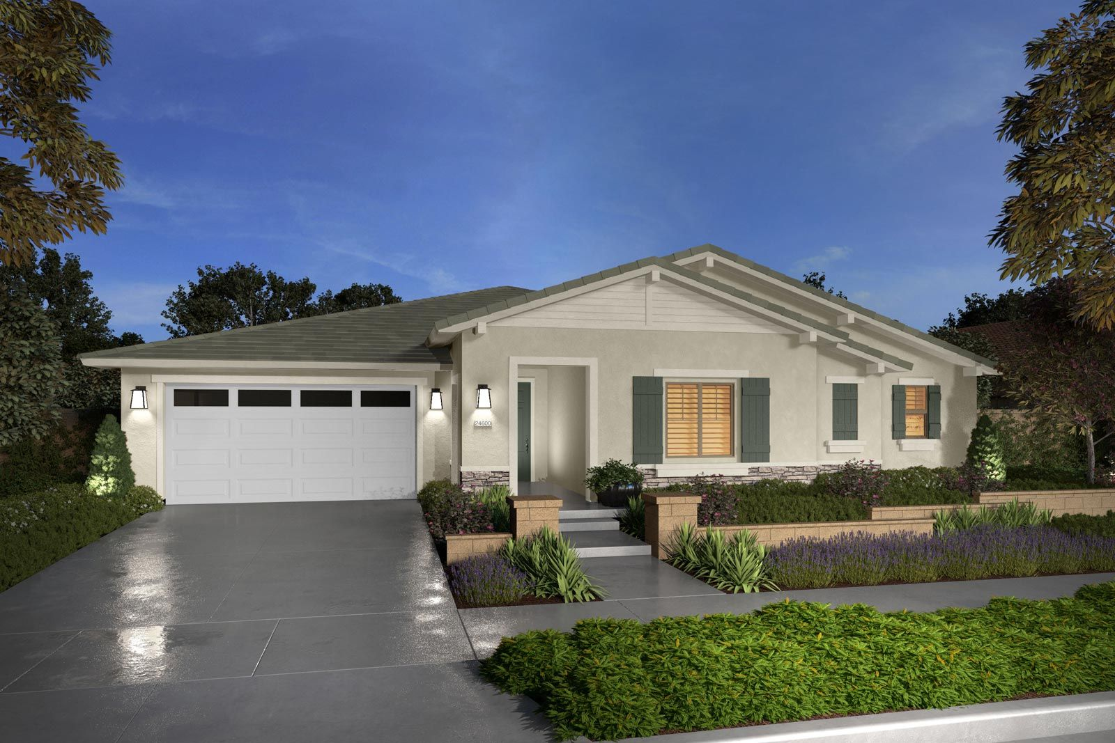 Exterior featured in the Residence 4 By Brookfield Residential in Riverside-San Bernardino, CA