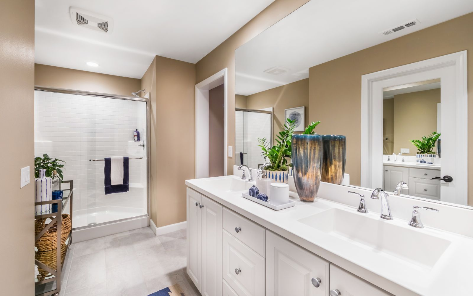 Bathroom featured in the Gardens Plan 2 By Brookfield Residential in Orange County, CA