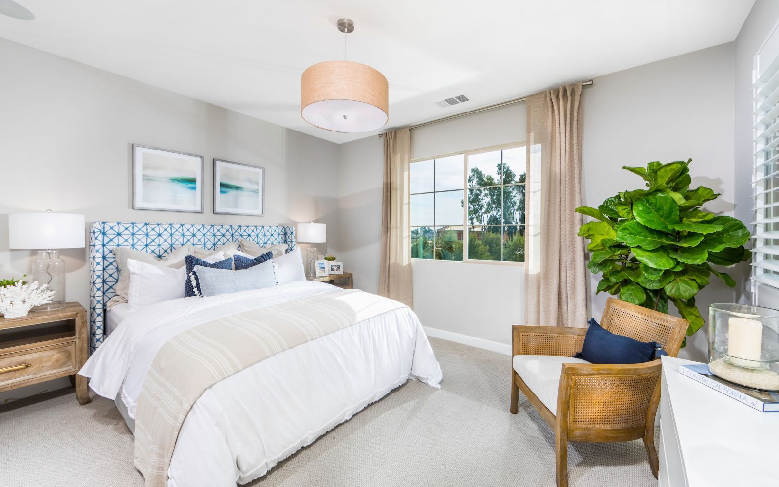 Bedroom featured in the Towns Plan 6 By Brookfield Residential in Orange County, CA