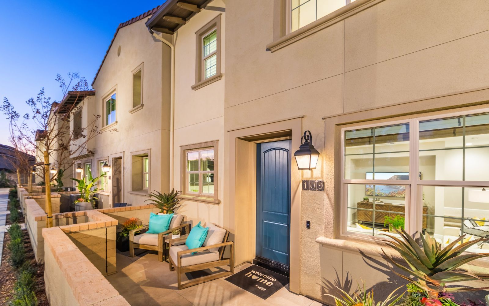 Exterior featured in the Towns Plan 3 By Brookfield Residential in Orange County, CA