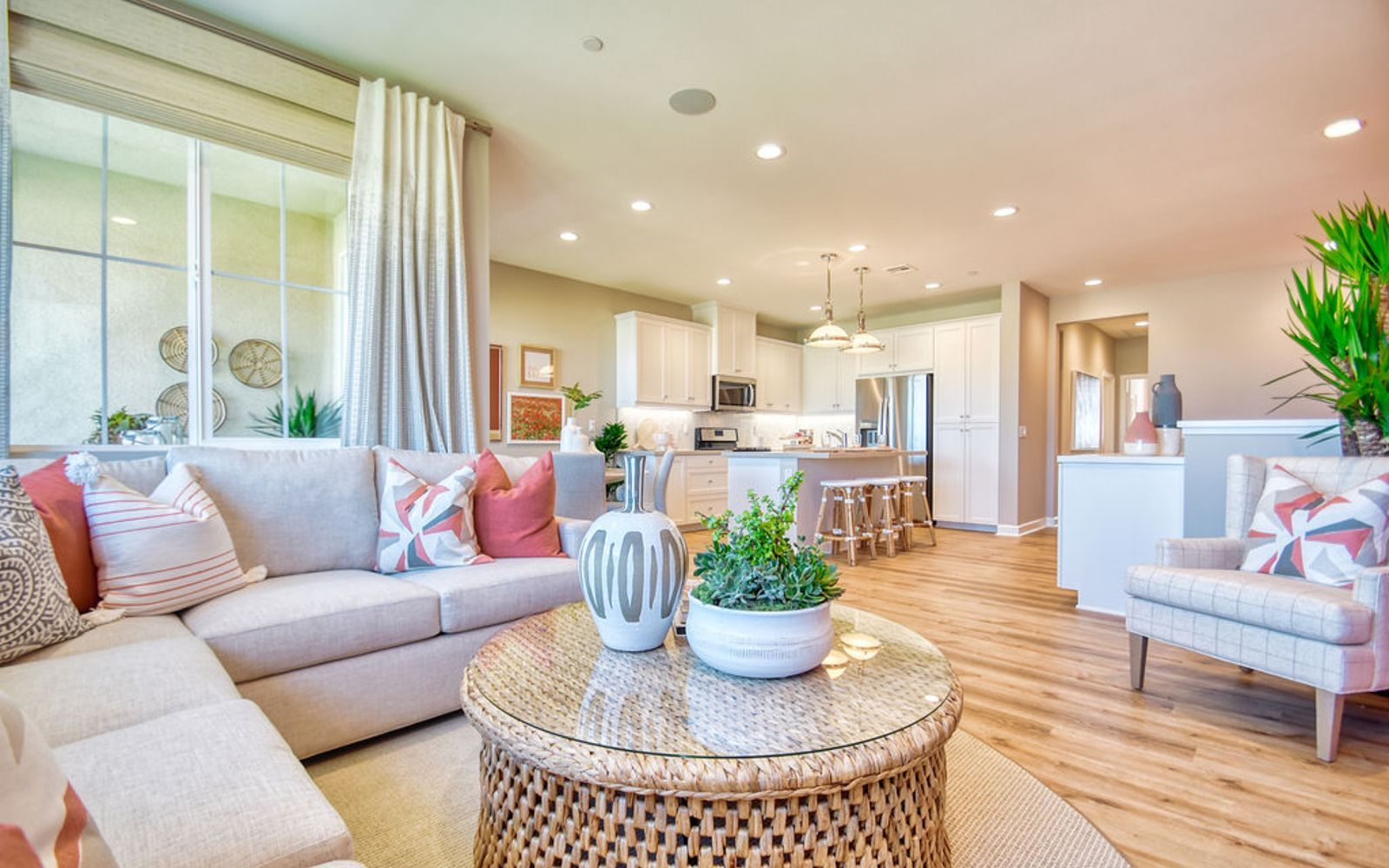 Living Area featured in the Residence 3 By Brookfield Residential in Riverside-San Bernardino, CA