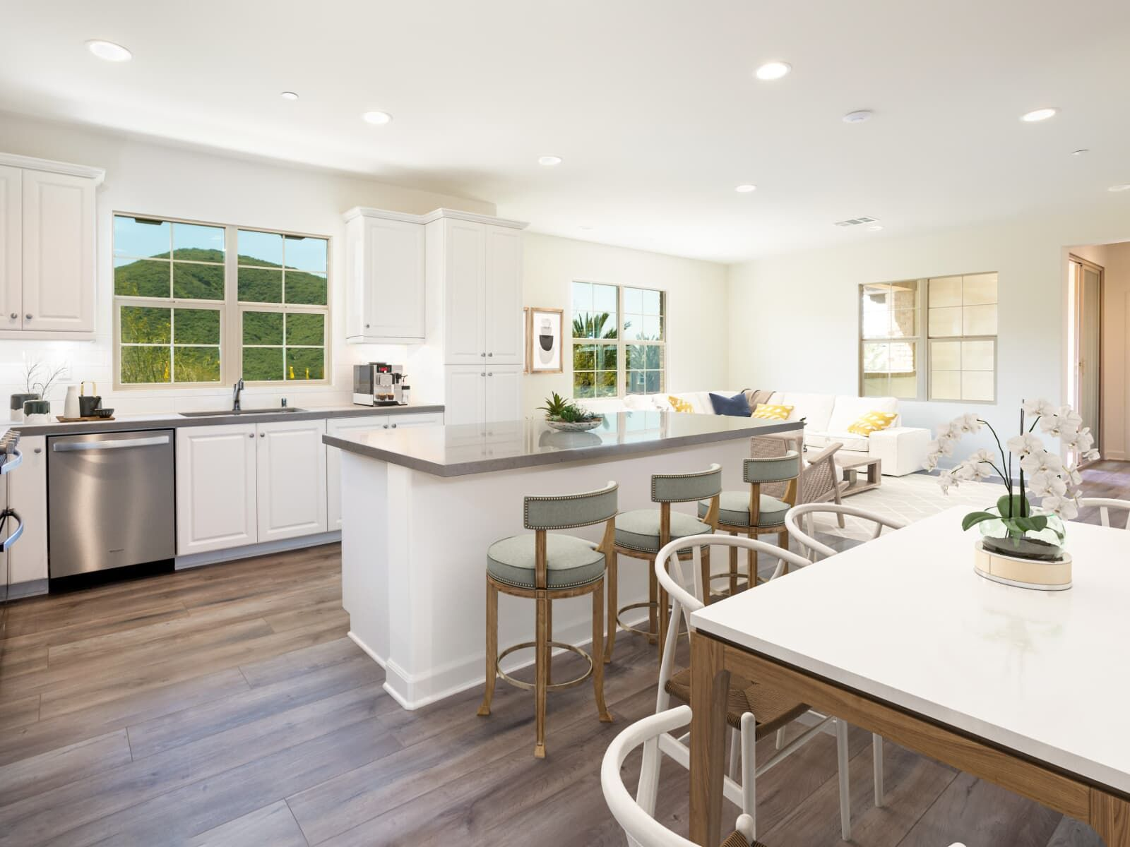 Kitchen featured in the Residence 3 By Brookfield Residential in San Diego, CA