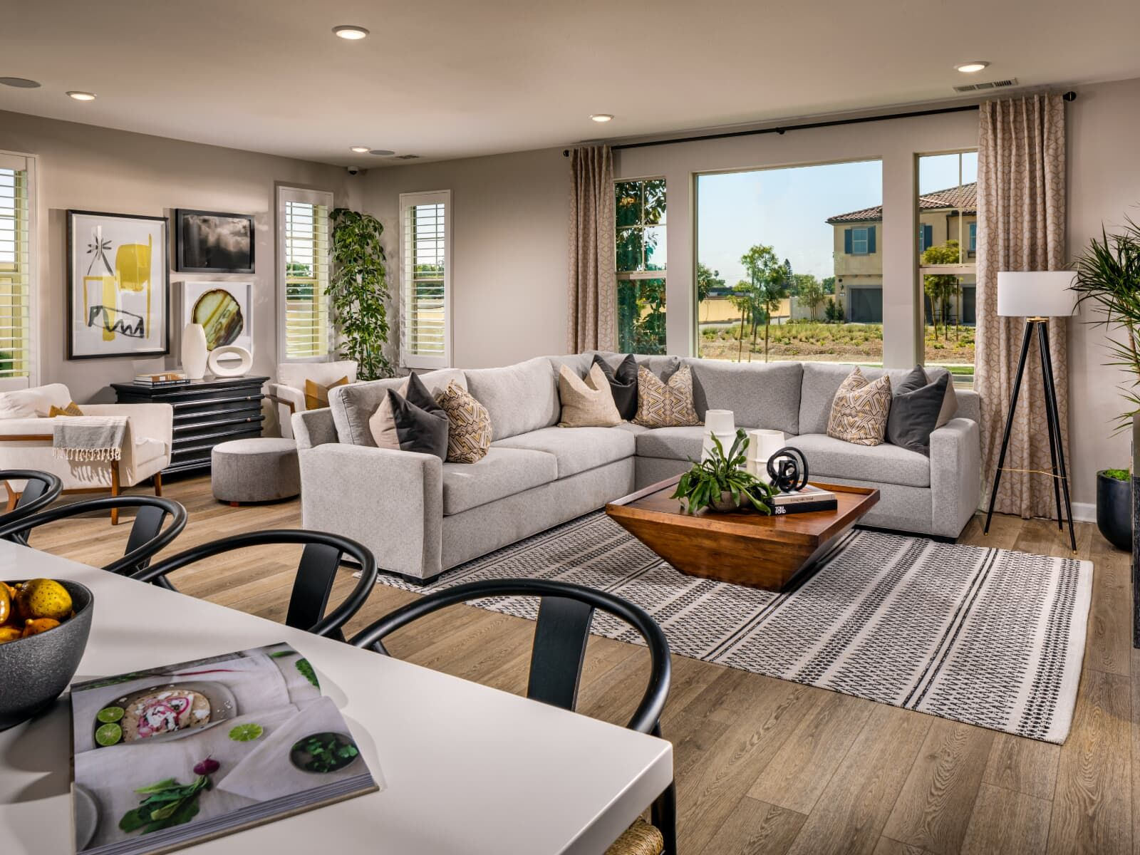 Living Area featured in the Plan 2 By Brookfield Residential in Los Angeles, CA