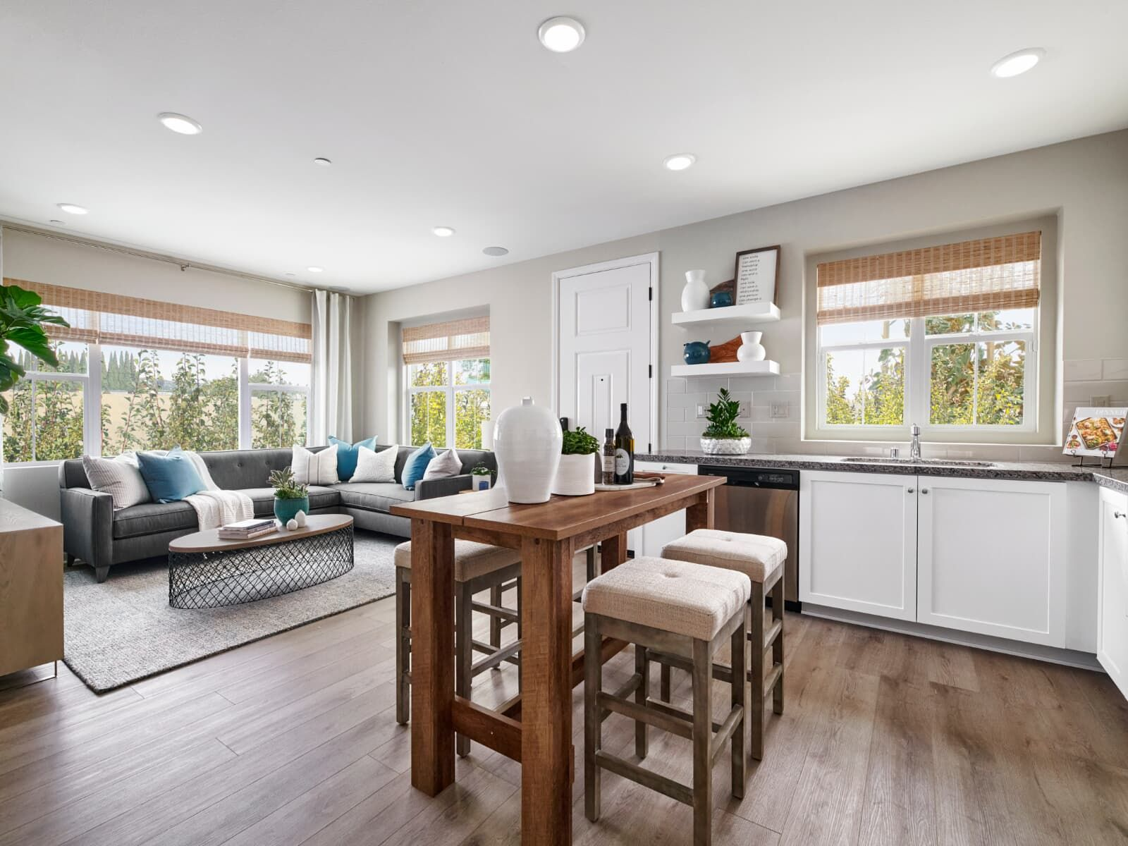 Living Area featured in the Plan 1 By Brookfield Residential in Los Angeles, CA