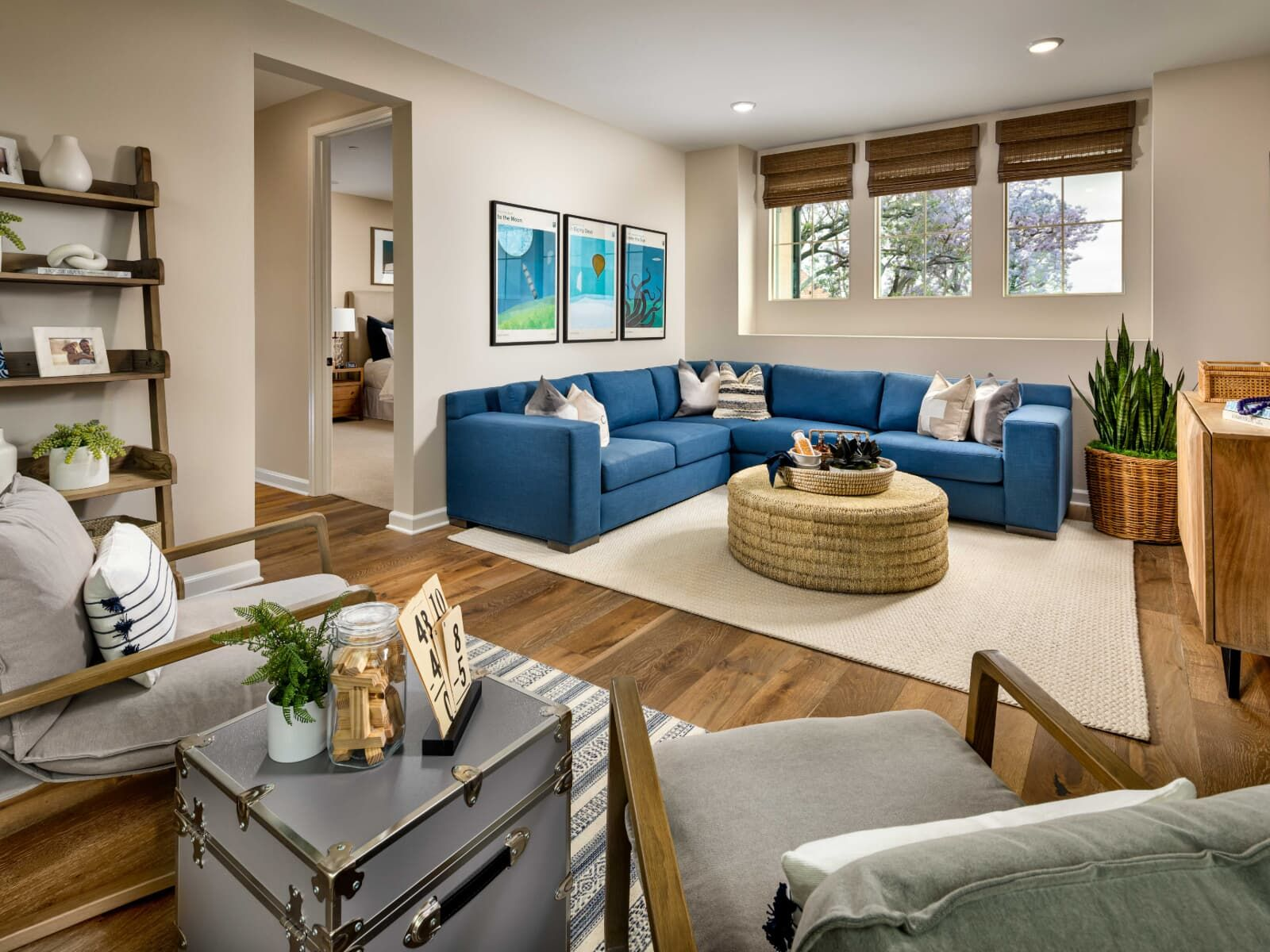 Living Area featured in the Plan 3 By Brookfield Residential in Los Angeles, CA