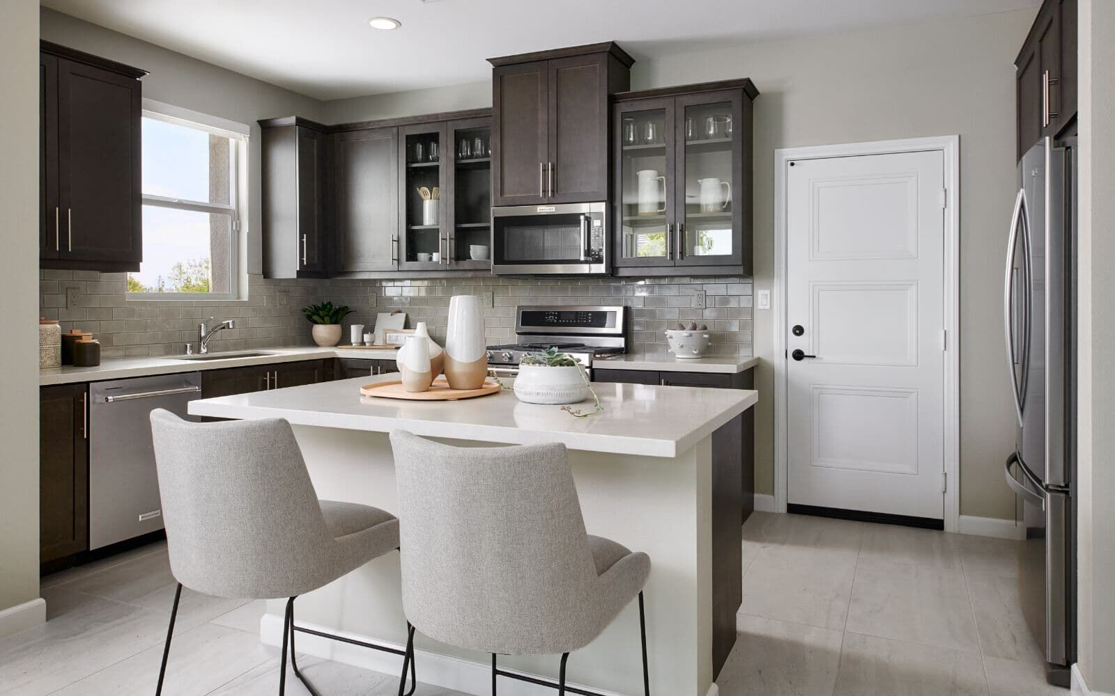 Kitchen featured in the Residence 3 By Brookfield Residential  in Riverside-San Bernardino, CA
