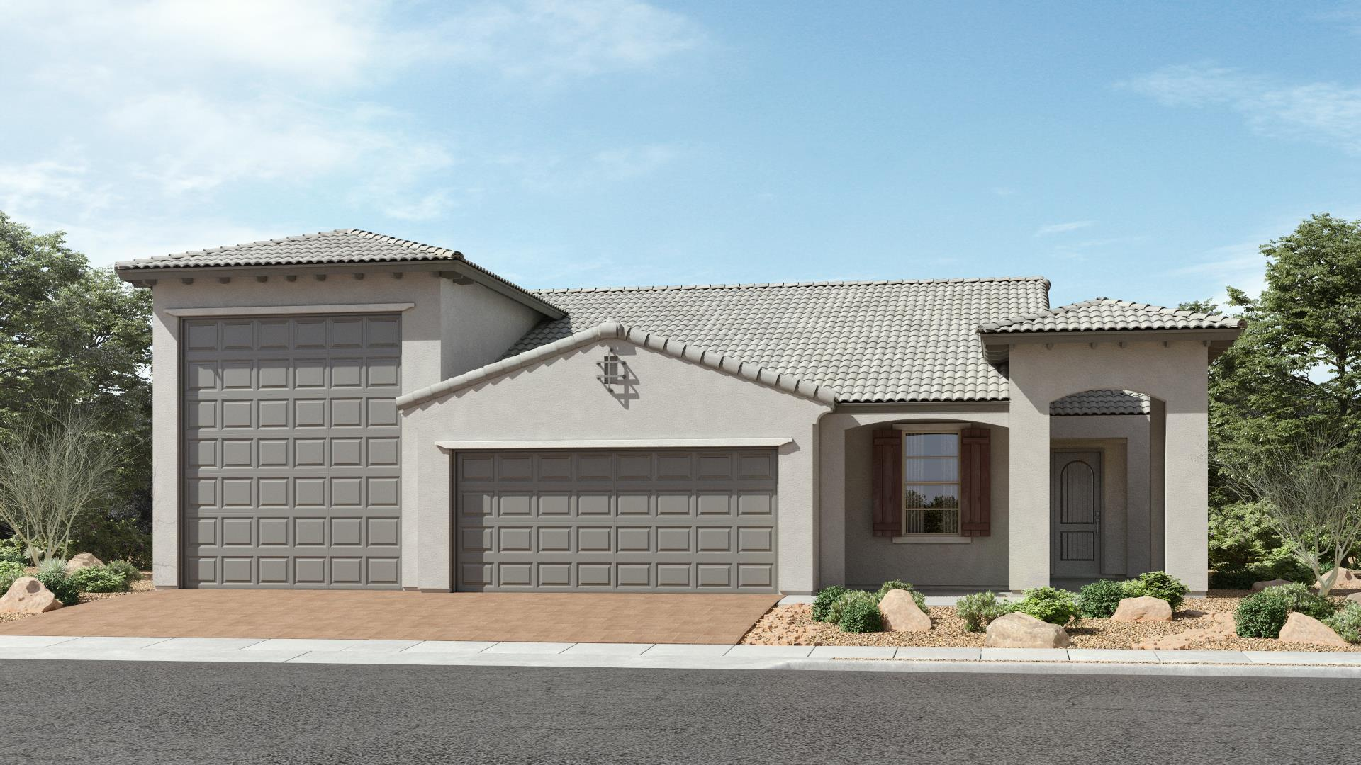 Exterior featured in The Pearl | Plan 52.1715RV By Brown Homes AZ in Prescott, AZ
