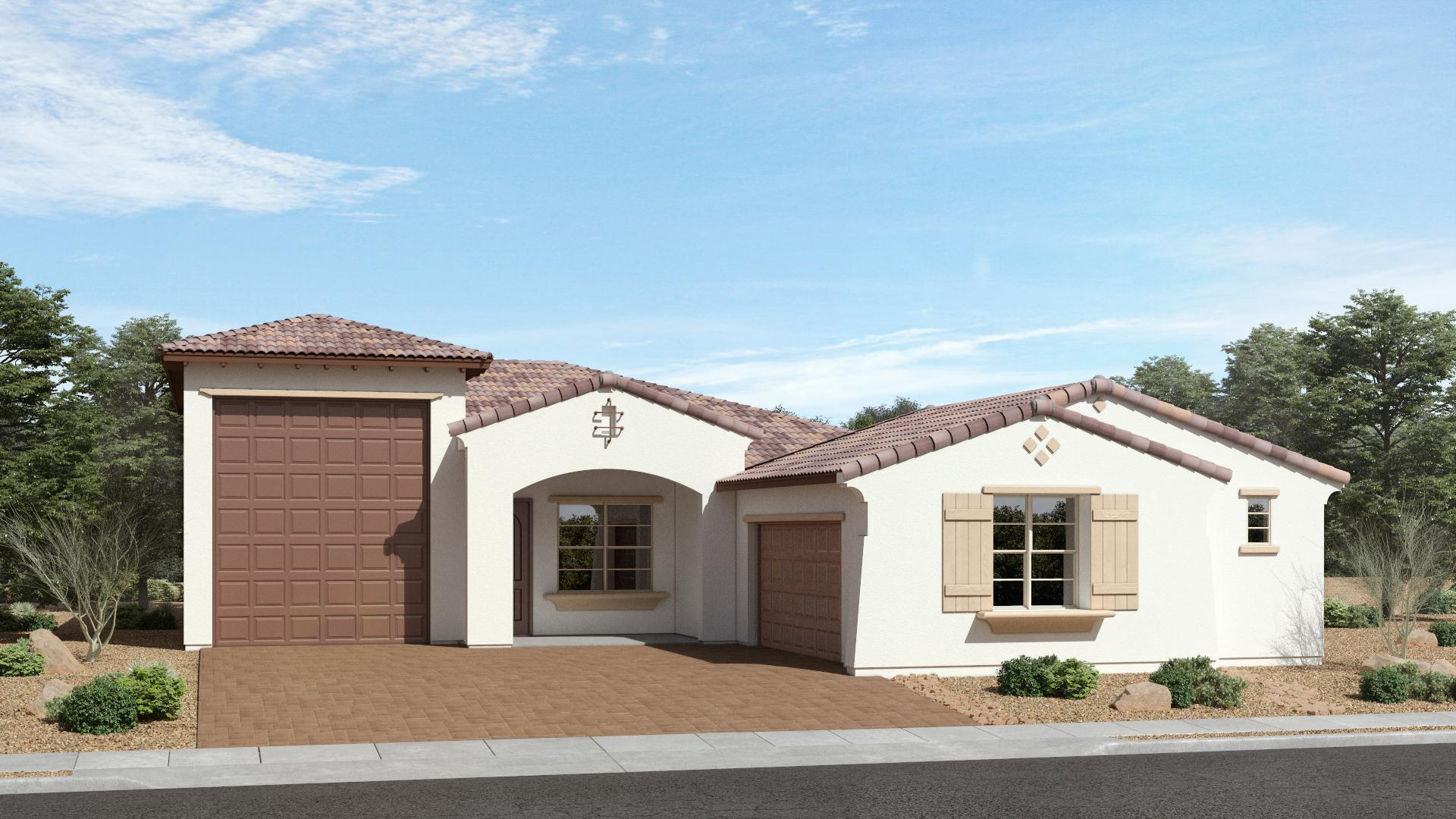 Exterior featured in The Emerald | Plan 55.1795RV By Brown Homes AZ in Prescott, AZ
